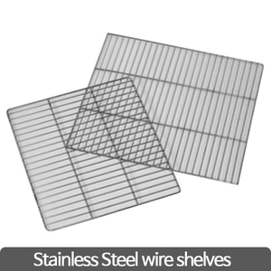 Stainless steel wire shelves (Drying Oven) 와이어 선반 (가이드 포함)