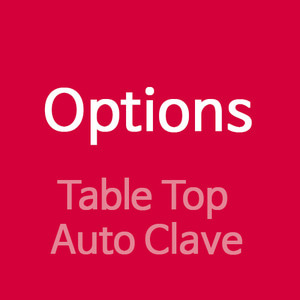 Options (Table Top Auto Clave)
