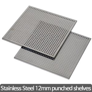 Stainless steel 12mm pubched shelves(Temp Control Chamber) 타공 선반